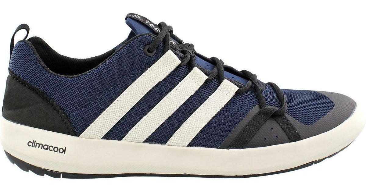 buy popular 3c611 724e4 Adidas Originals Blue Climacool Boat Lace Shoe for men