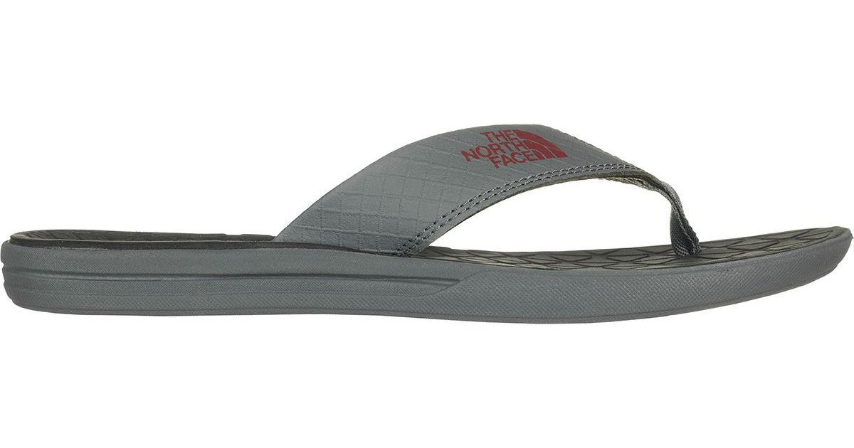3b4748640 The North Face Gray Base Camp Lite Flip Flop for men
