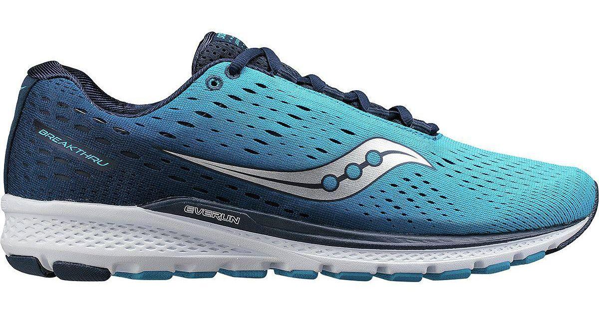 Saucony Blue Breakthru 3 Running Shoe for Men Lyst