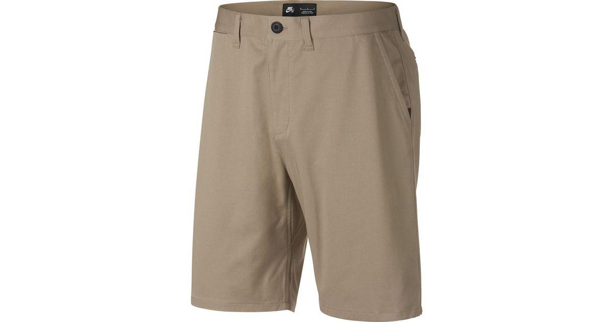 Hackett Mens Stretch Cotton Hibiscus Shorts Beige