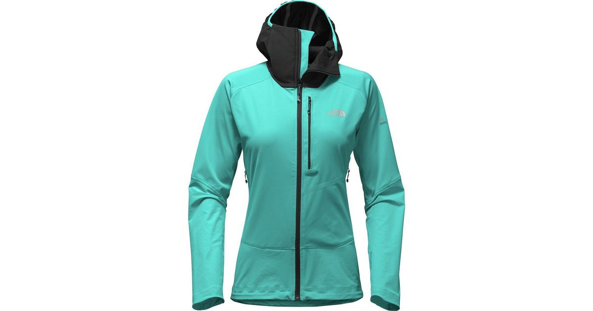 63080a761 The North Face Green Summit L4 Windstopper Softshell Hoodie Jacket
