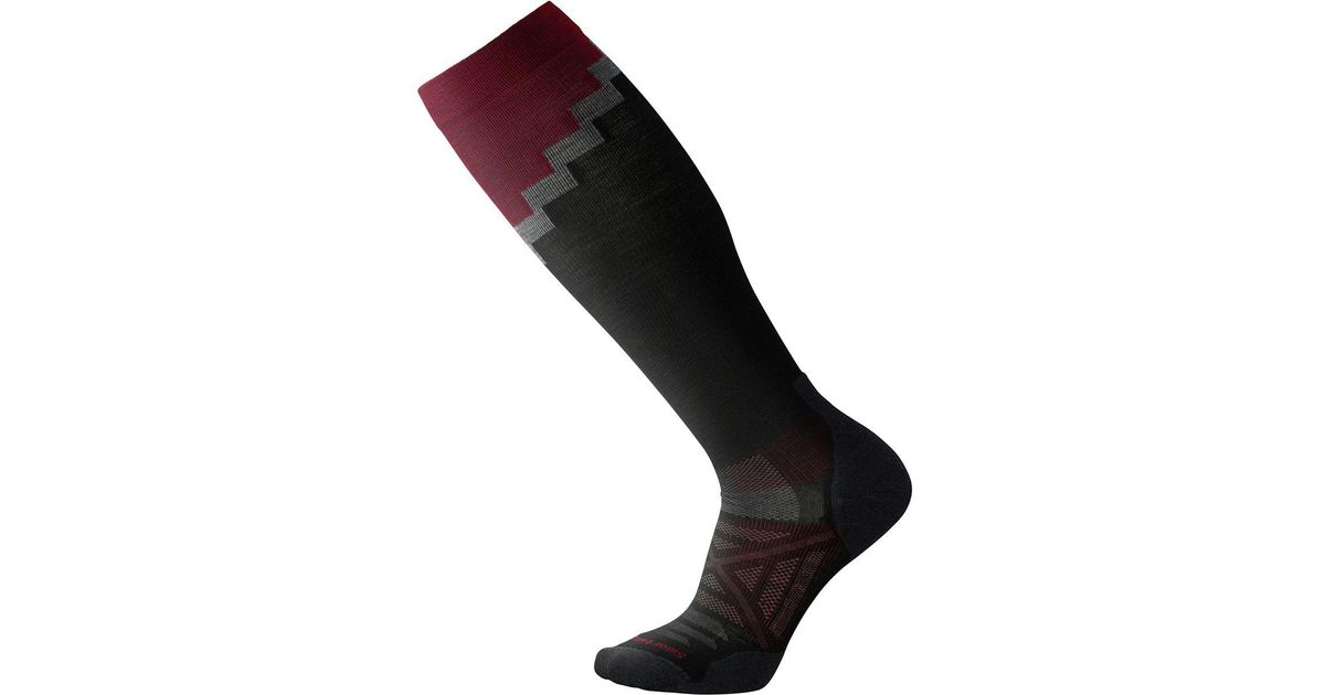 0811fc4c93 Lyst - Smartwool Phd Pro Mountaineer Compression Sock in Black for Men
