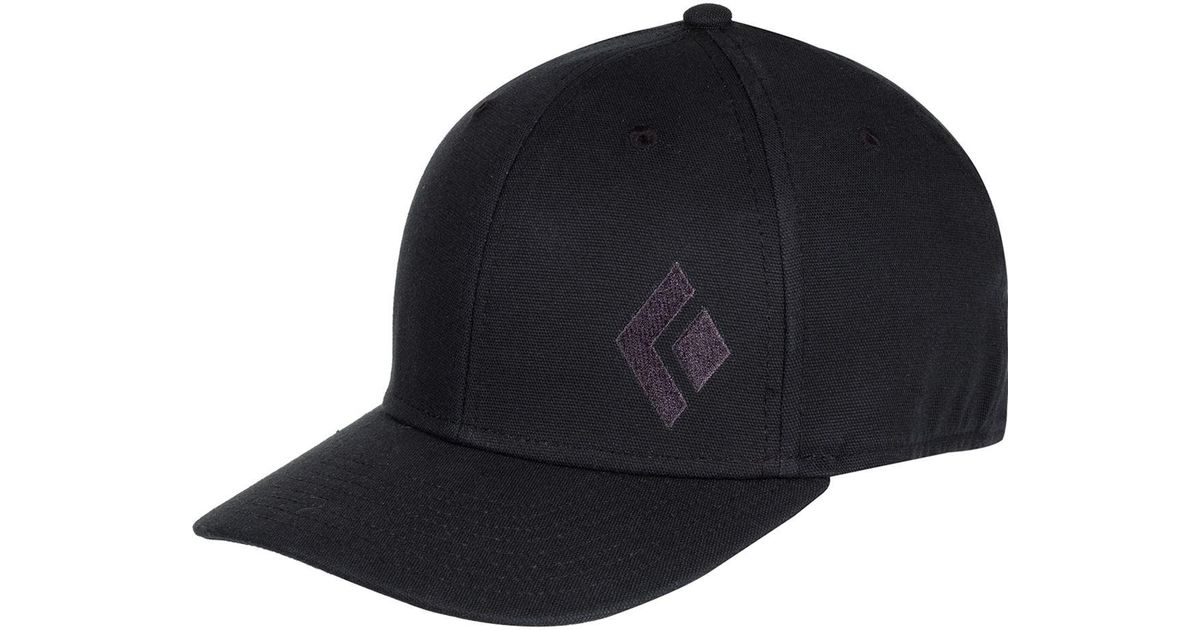 Lyst - Black Diamond Bd Logo Hat in Black for Men 6802179f991