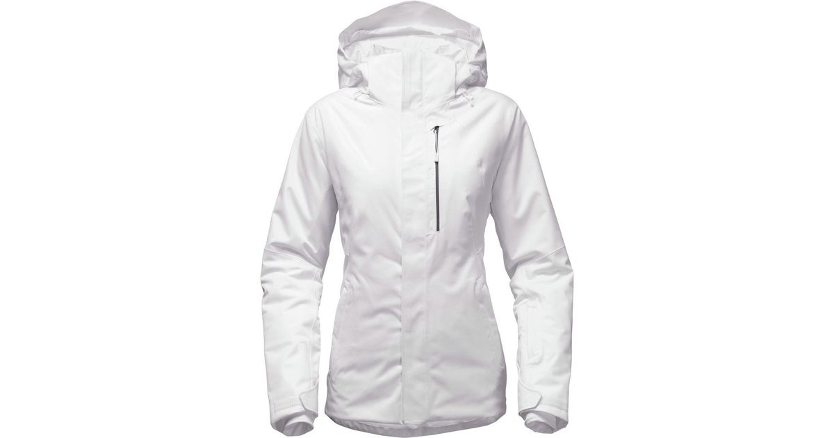 8e00c1cb1900 Lyst - The North Face Gatekeeper Hooded Jacket in White