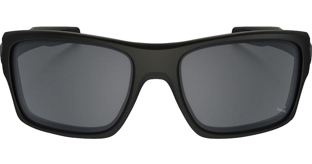 cda2ce7ad8dc8 Lyst - Oakley Turbine Sunglasses in Black for Men