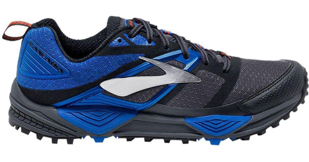 c79546d1234 Lyst - Brooks Cascadia 12 Trail Running Shoe in Blue for Men