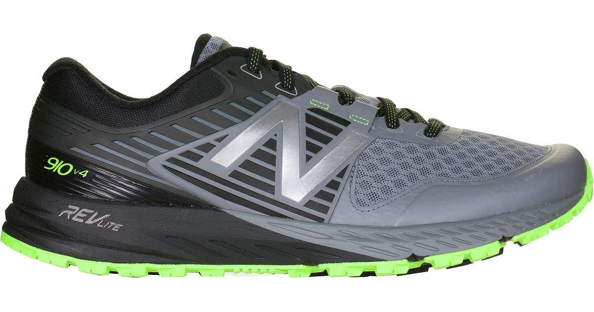 New Balance Multicolor 910v3 Neutral Cushioning Trail Running Shoe For Men