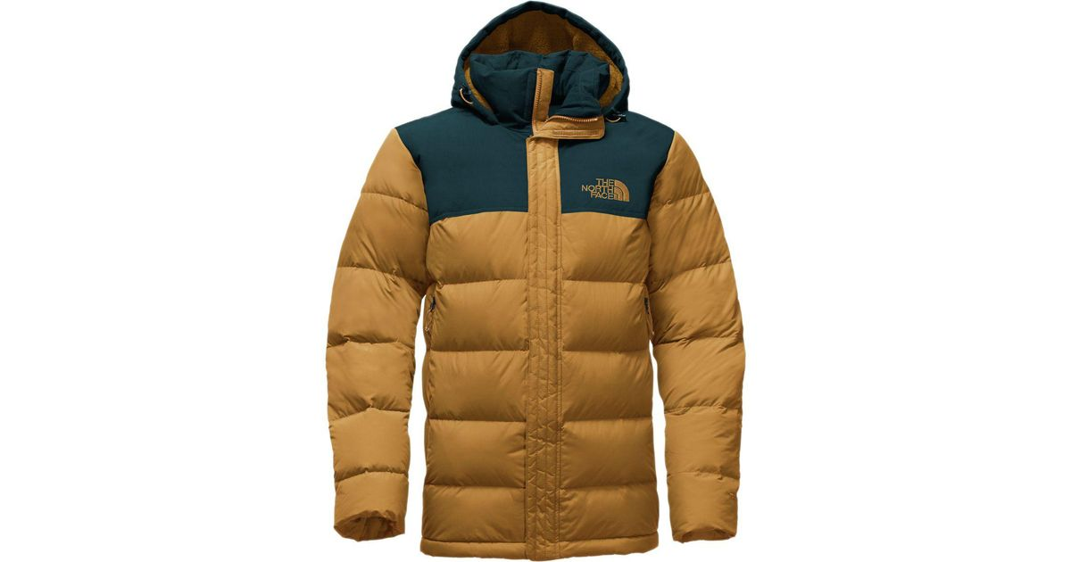 4f0ad616c The North Face Blue Nuptse Ridge Hooded Down Parka for men