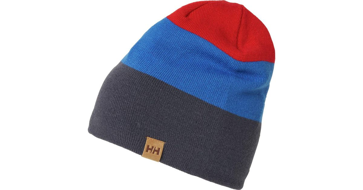 82a8421010e Lyst - Helly Hansen Hh Winter Lifa Beanie in Blue for Men