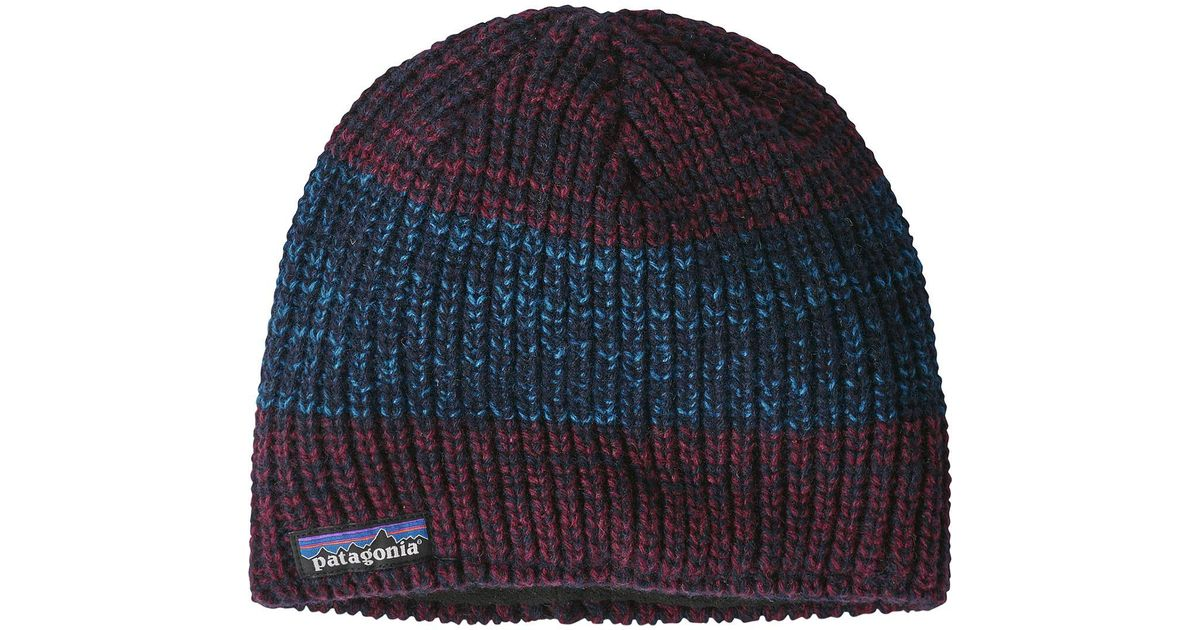 Lyst - Patagonia Speedway Beanie in Blue for Men - Save 31% f03c513bd68a