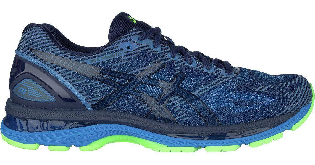 65bfc17dd4 Lyst - Asics Gel-nimbus 19 Lite-show Running Shoe in Blue for Men