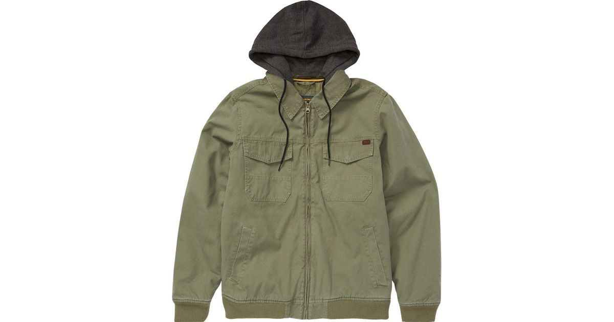 1482588d5 Billabong Green Barlow Twill Jacket for men