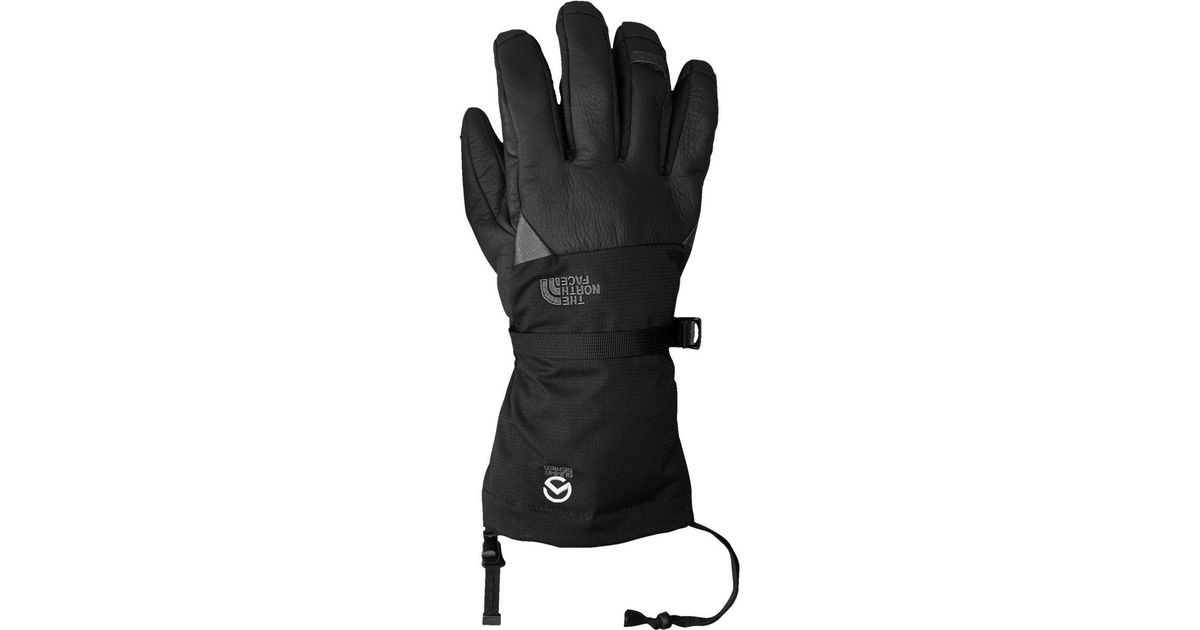 Lyst - The North Face Patrol Long Gauntlet Glove in Black for Men 7dd8ba37ccf4