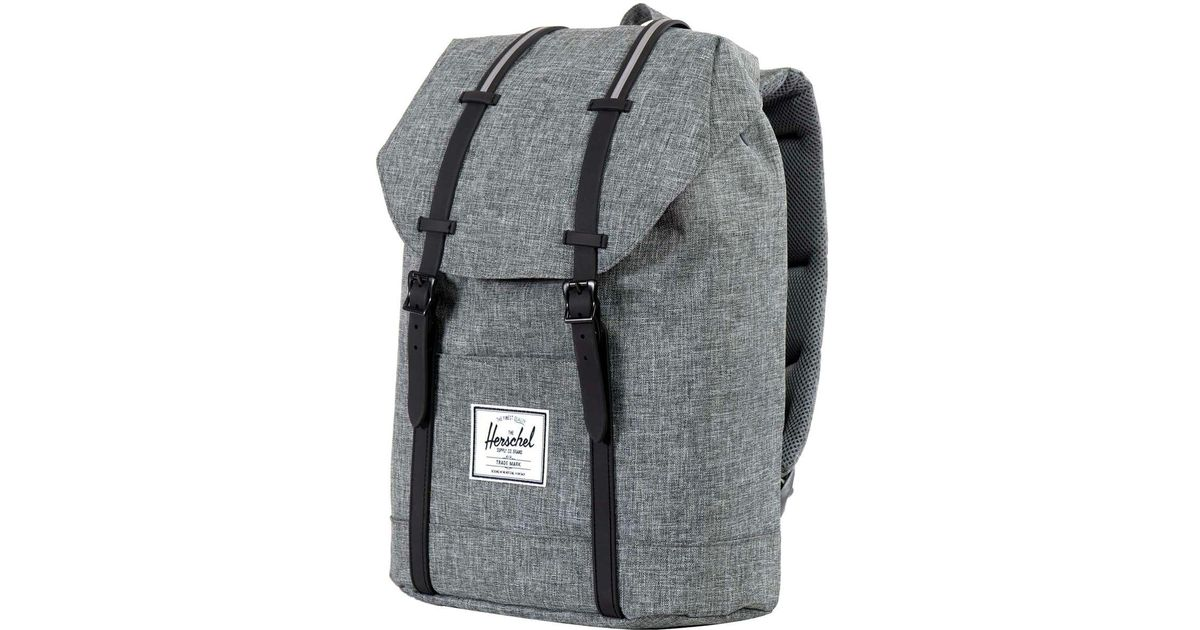 b83853a58a Lyst - Herschel Supply Co. Retreat 19.5l Backpack in Black