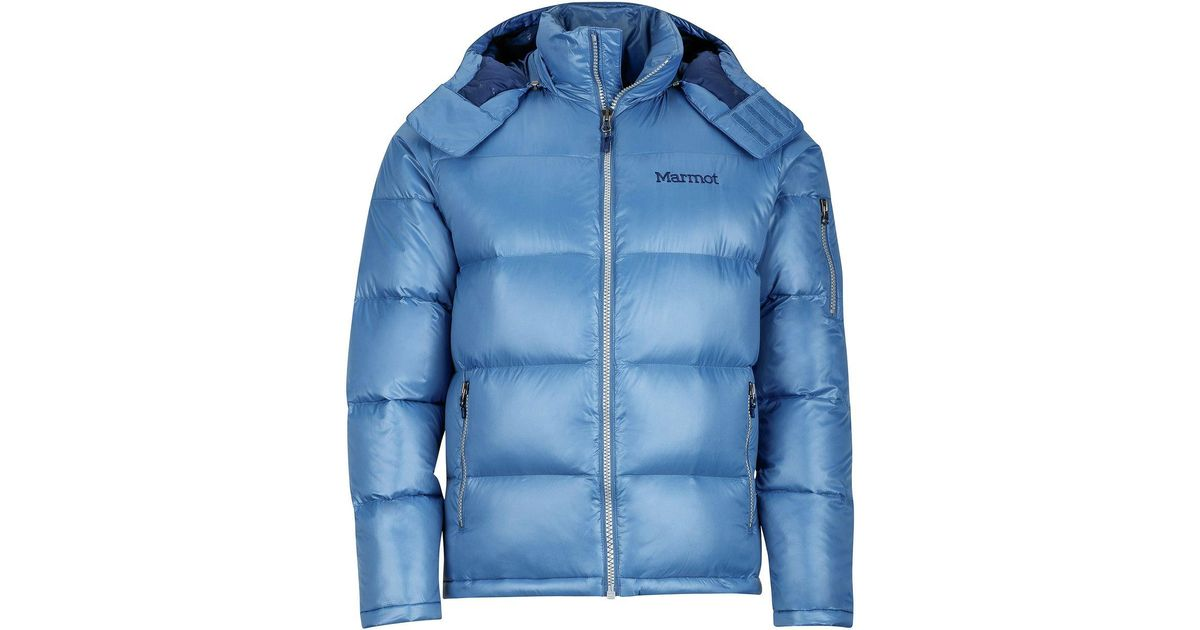 Lyst - Marmot Stockholm Down Jacket in Blue for Men 8115e05354ff