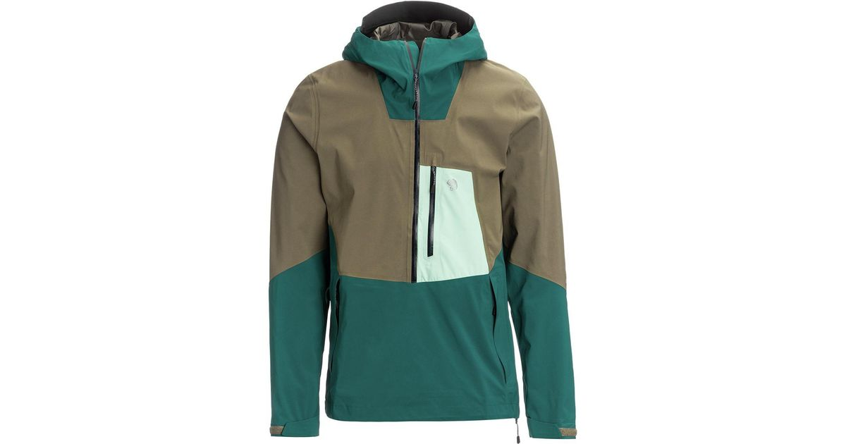 acb03436def Mountain Hardwear - Green Exposure/2 Gtx Paclite Stretch Pullover Jacket  for Men - Lyst