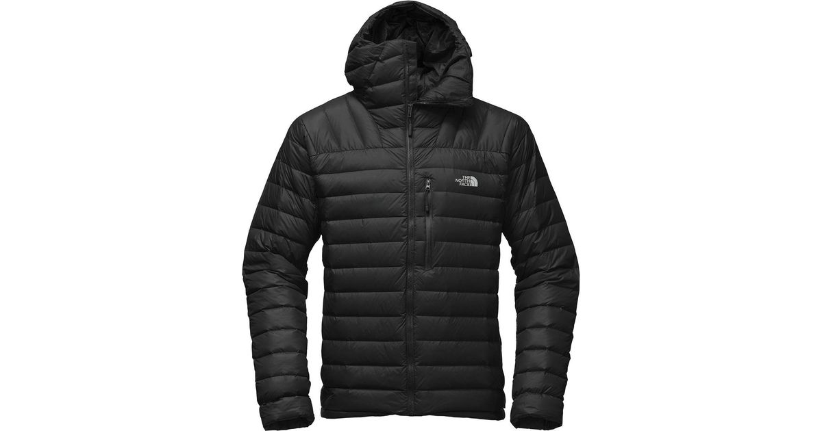 64b272806 The North Face Black Morph Hooded Down Jacket for men