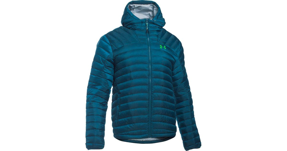 296edc41e Lyst - Under Armour Four Pines Down Jacket in Blue for Men