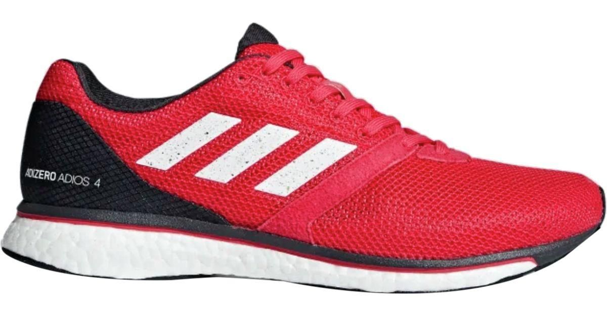 Adizero Adios 4 Boost Running Shoe