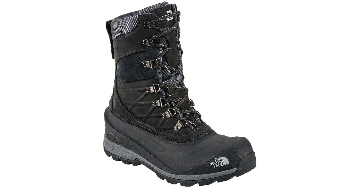 bece337c4ce The North Face Black Chilkat 400 Boot for men