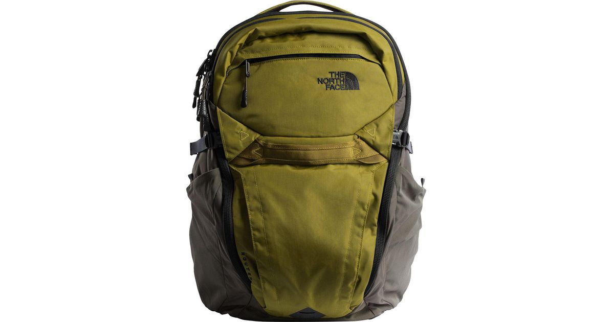 57203f983 The North Face Green Router 40l Backpack for men