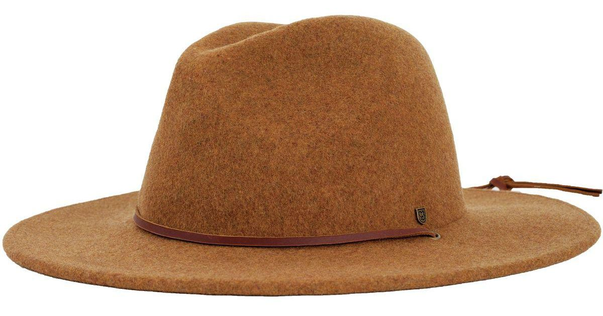 d073068f3e9797 ... promo code for lyst brixton field hat in brown e0a48 95aac