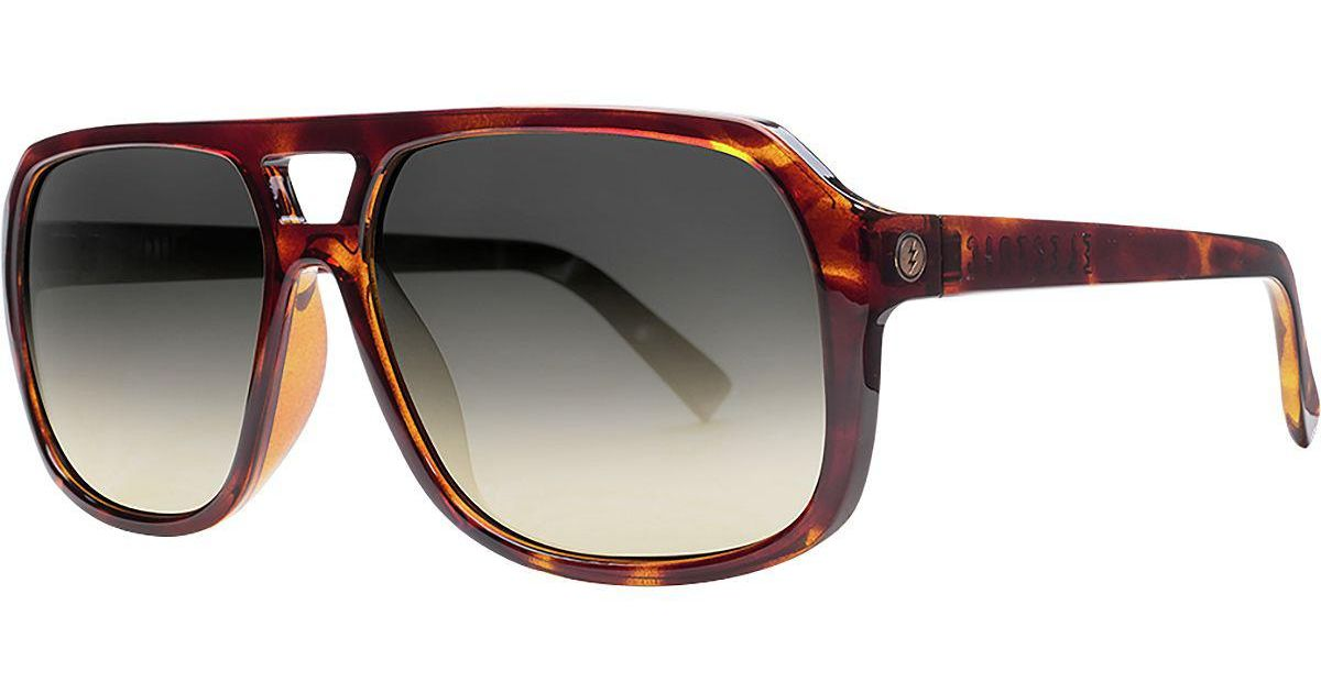 15974cadf61 Lyst - Electric The Dude Sunglasses in Black