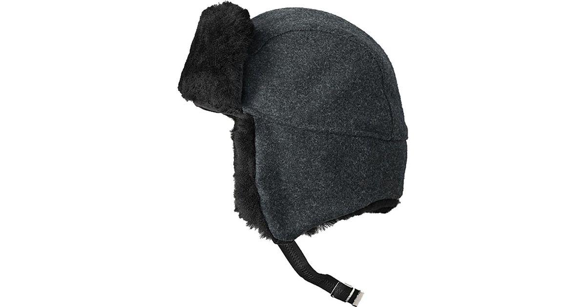 26e8d4257e852 Filson Gray Trapper Hat for men