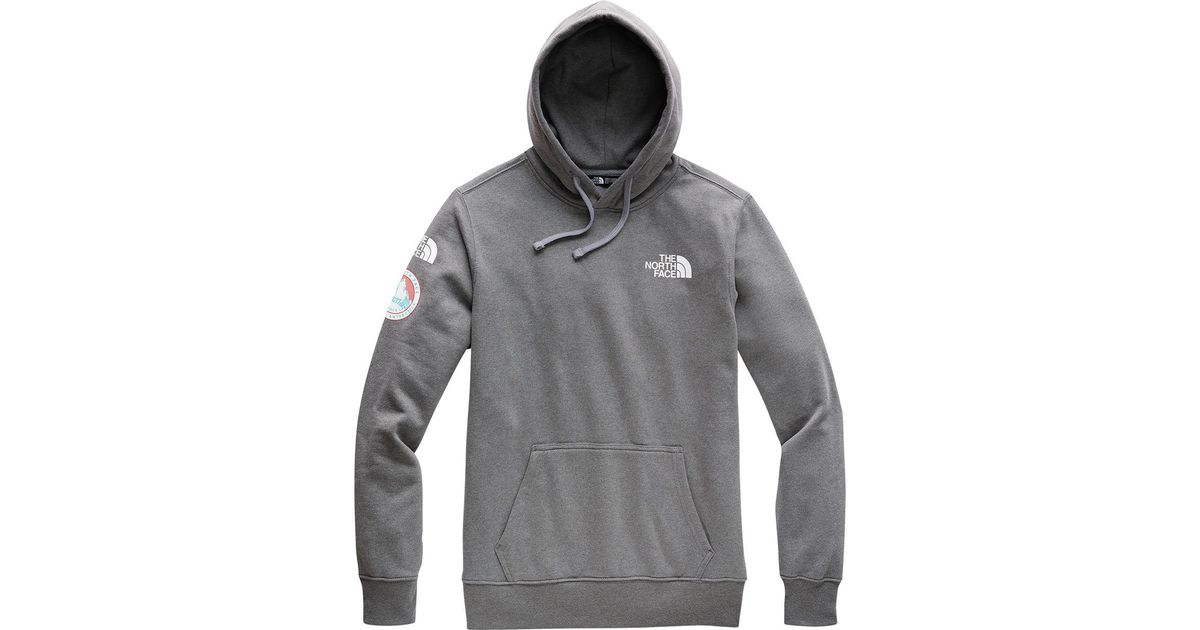 0bcc598fd The North Face Gray Antarctica Collectors Heavyweight Hoodie for men