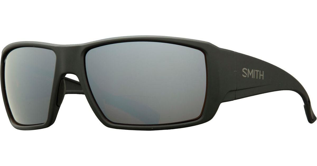 d0b67c6840 Lyst - Smith Guides Choice Bifocal Polarized Sunglasses in Black for Men