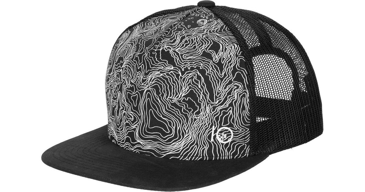 203ff3257954d ... coupon code for lyst tentree terra trucker hat in black for men 28a87  49482