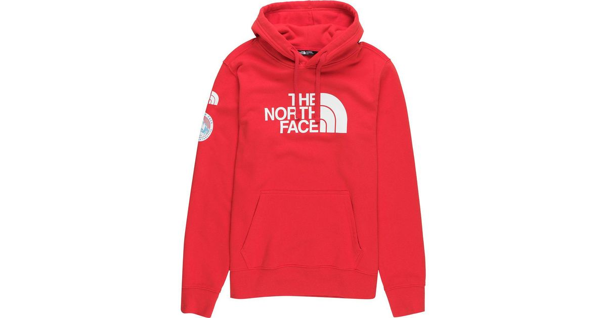 33d041e81 The North Face Red Antarctica Collectors Hoodie for men
