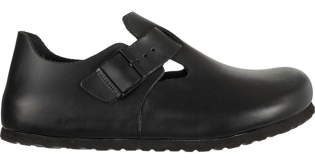 69d8c0412b92 Lyst - Birkenstock London Soft Footbed Leather Boot in Black for Men