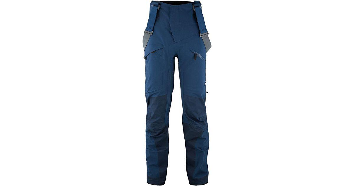 cheap for discount 9b4f1 ecdef Klattermusen Blue Brage Pant for men