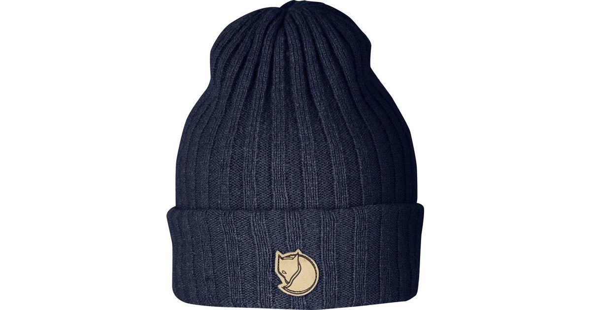 Lyst - Fjallraven Byron Hat in Blue for Men 0770ba467317