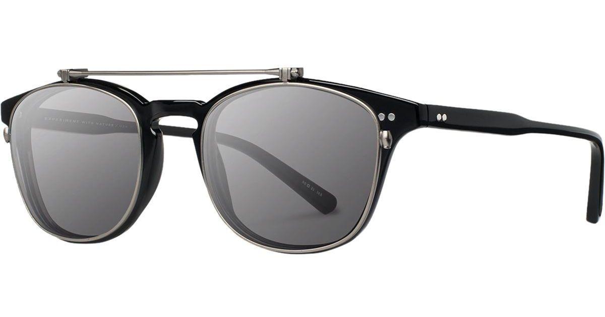 ea4bdfd17b9 Lyst - Shwood Kennedy Sunglasses - Polarized in Black