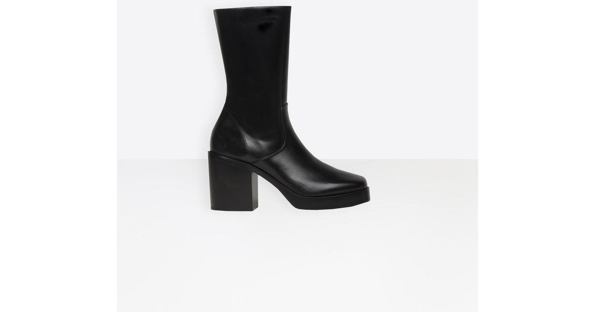 b552265a4db9 Balenciaga platform booties in black lyst jpeg 1200x630 Balenciaga platform