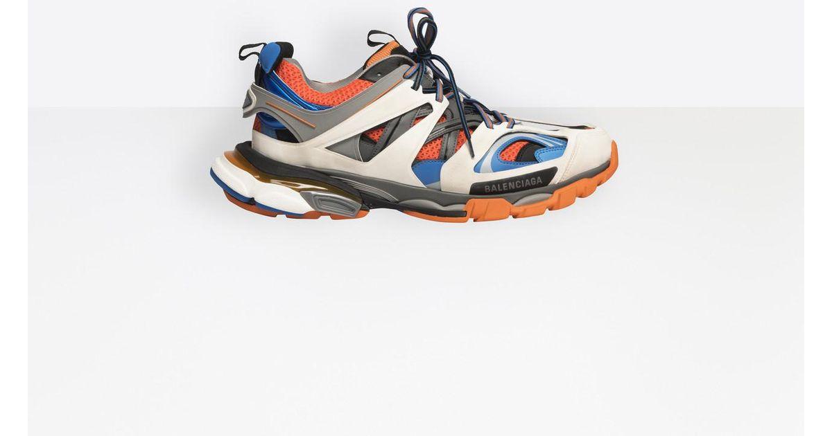 78c0fa2b29b3 Lyst - Balenciaga Track Trainers in Orange for Men