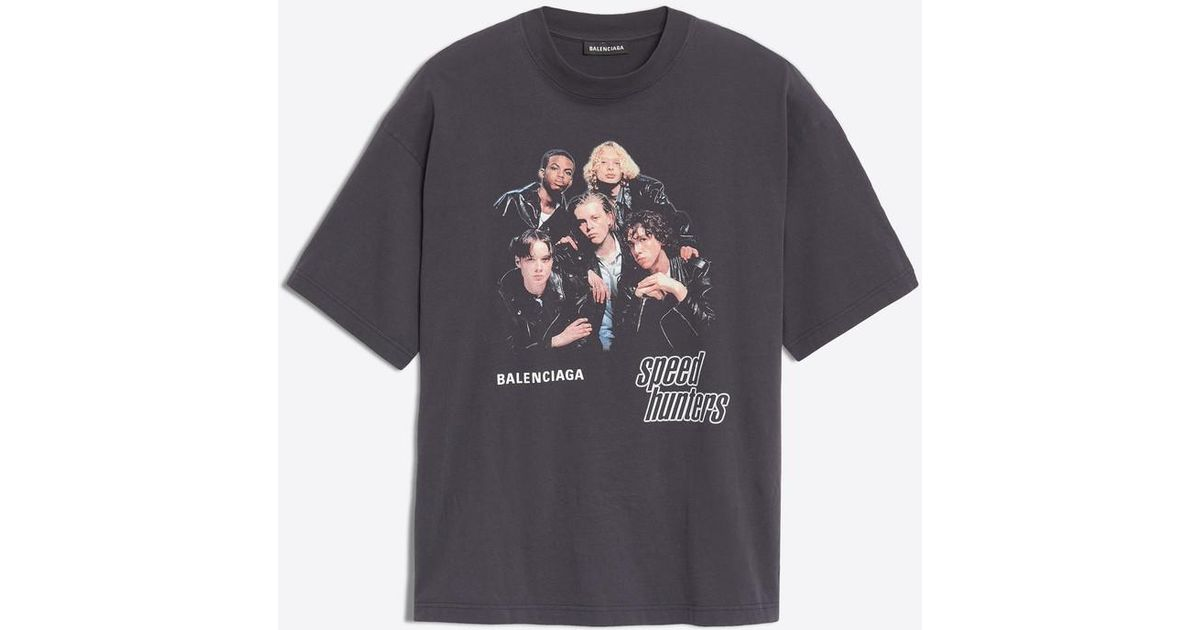 Balenciaga Cotton Speedhunters T-shirt