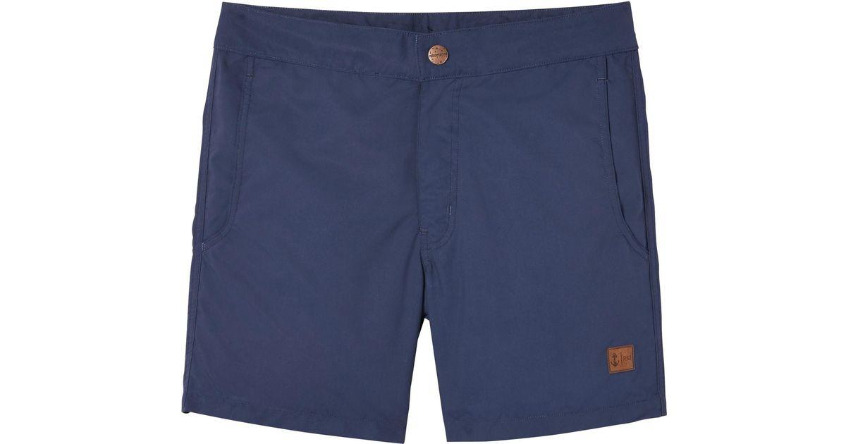 bb2214449d1d7 Lyst - Banana Republic Retromarine | Solid Swim Short in Blue for Men