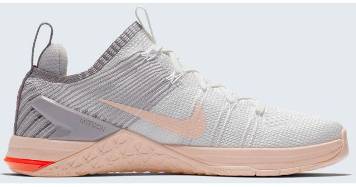 Lyst - Nike Metcon Dsx Flyknit 2 Training Shoe in White e02d27aa8