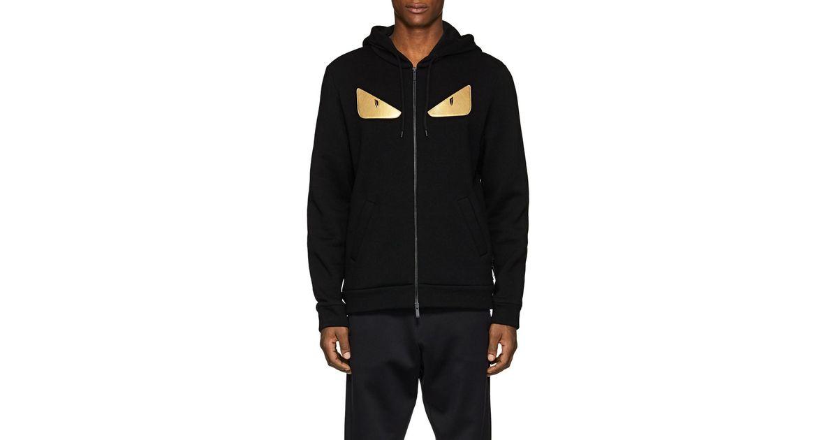 378ee3c279ac Lyst - Fendi Bag Bugs Zipped Sweatshirt in Black for Men - Save 23%