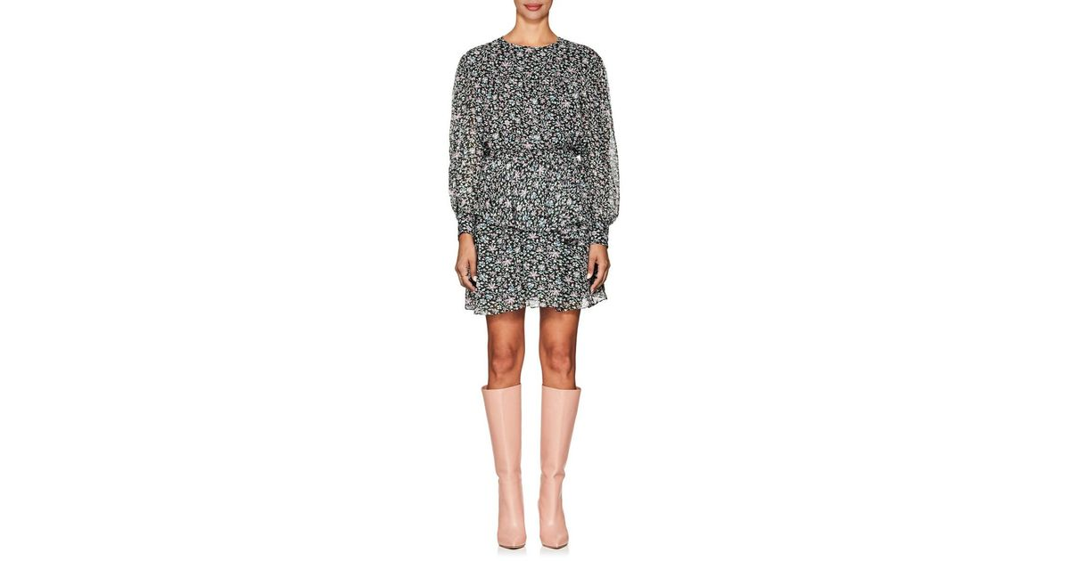 696ec2573d4 Lyst - Étoile Isabel Marant Java Floral-print Chiffon Dress