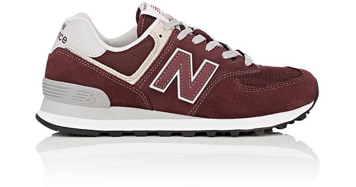 2012dc8e3ffb4 Lyst - New Balance 574 Classic Suede & Mesh Sneakers