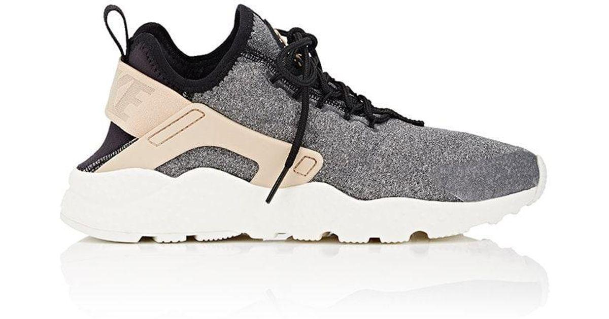 b25b8cf19028 Lyst - Nike Air Huarache Run Premium Sneakers in Black