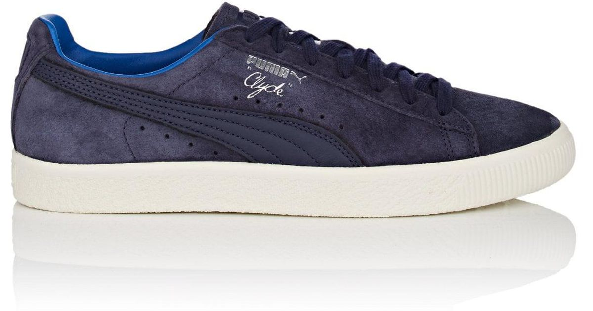 size 40 046e4 88a2a PUMA Blue Clyde Normcore Suede Sneakers for men