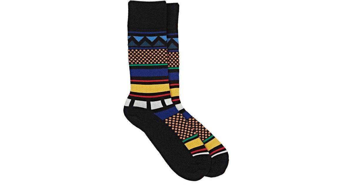 Free Shipping 100% Guaranteed Outlet Great Deals Mens Rib-Knit Cotton-Blend Mid-Calf Socks Paul Smith Clearance Footaction 63BpjVGE