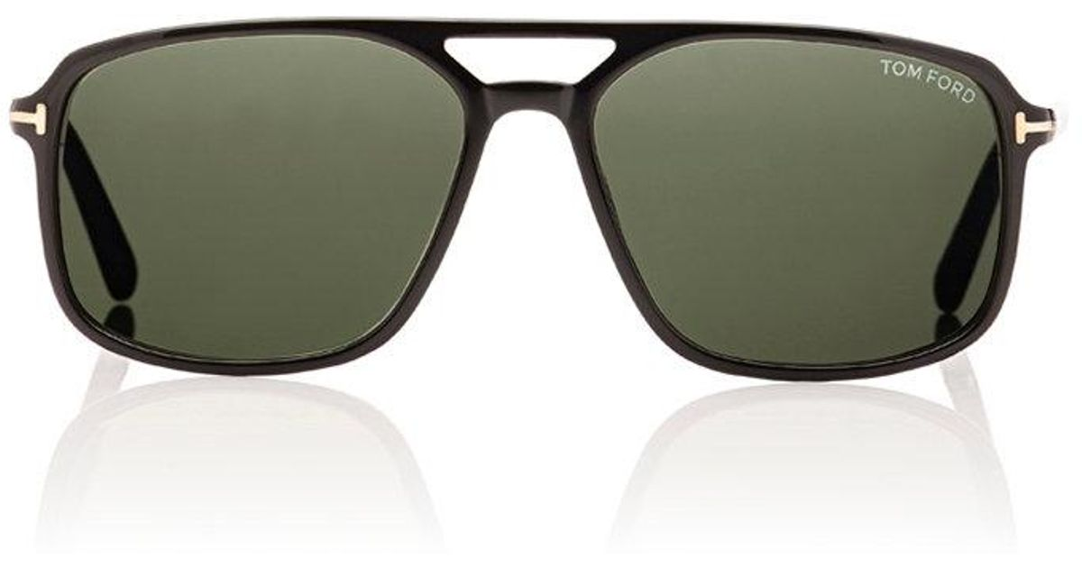 9f1478056884f Lyst - Tom Ford Terry Men s Square Acetate Sunglasses in Black for Men