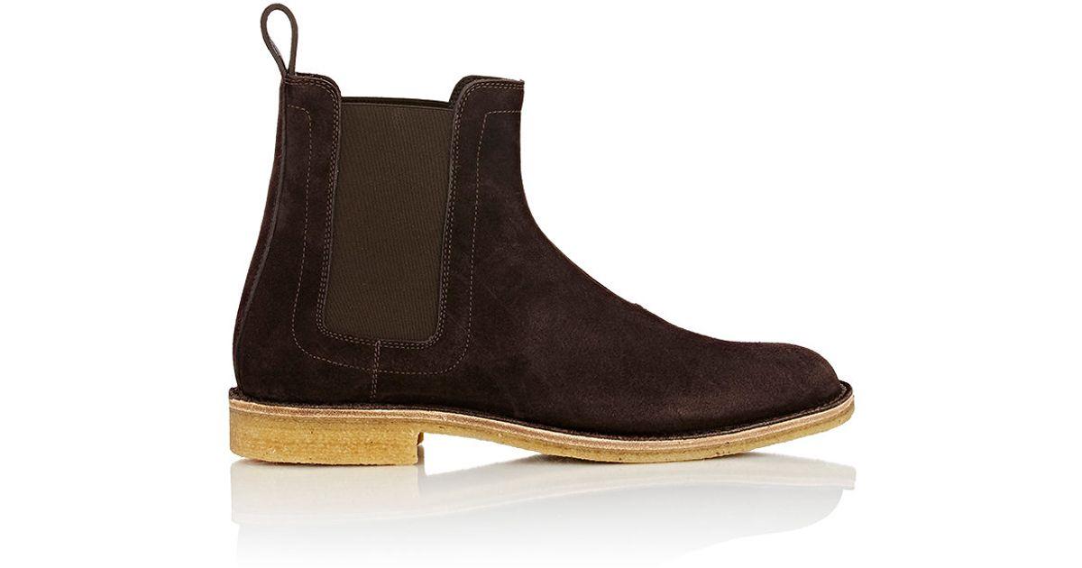 Bottega Veneta Men S Chelsea Boots In Brown For Men Lyst