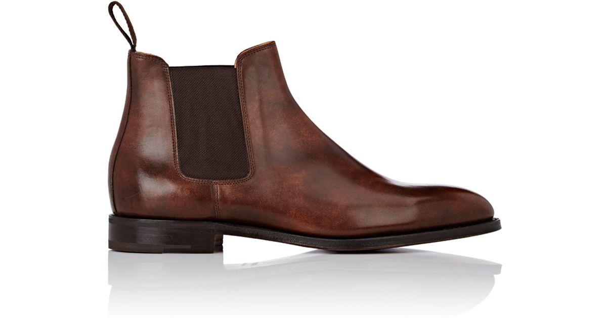 Sast Sale Online Outlet Store Mens Leather Chelsea Boots Carmina Shoemaker ecZohf7mK